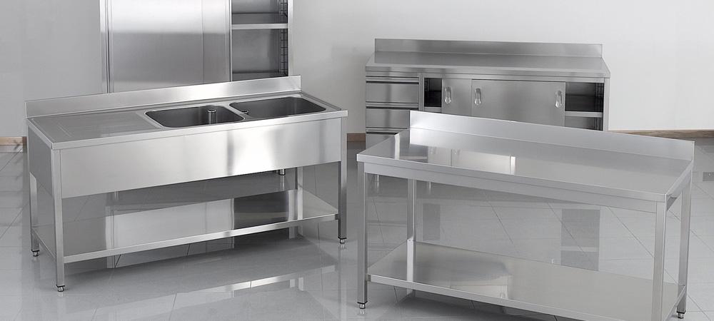 Mat riel inox pour votre cuisine professionnelle for Equipement pour cuisine professionnelle